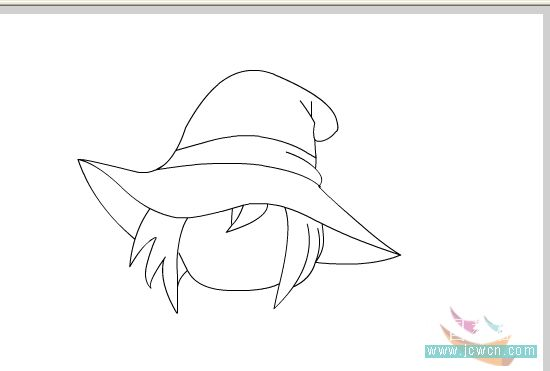 Flash教你制作卡通MM眨眼睛动画