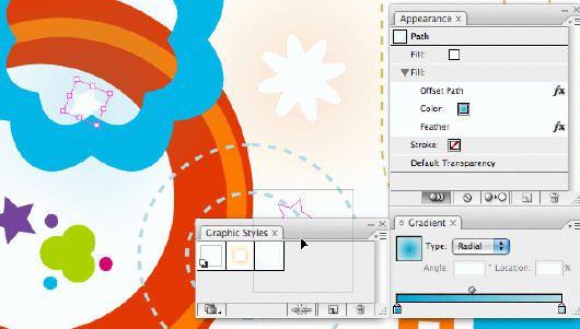 Illustrator中收缩和膨胀效果的应用技巧