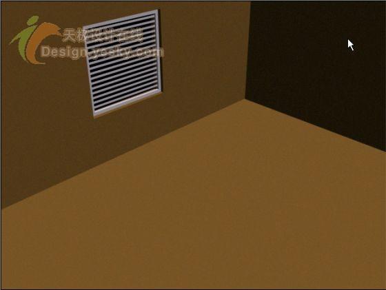 3DsMAX实例:窗格透光效果模拟