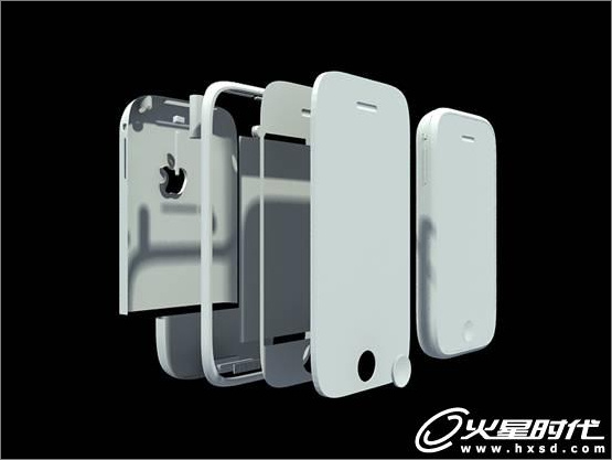 3ds Max iPhone手机建模与渲染技巧