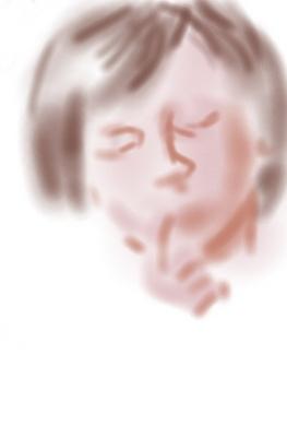 Painter和数位板的组合绘制美女头像