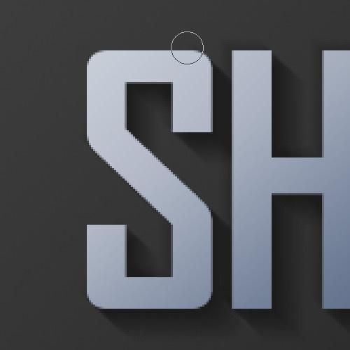 Photoshop打造最真实的立体字