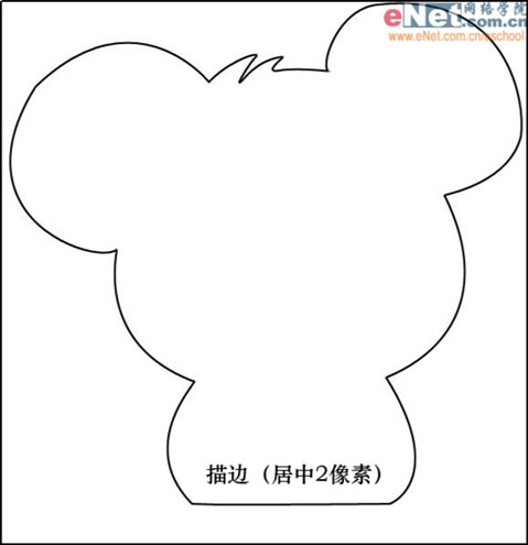 Photoshop鼠绘:含泪的老鼠