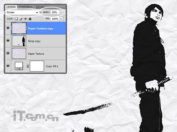 PS照片特效高级教程之图片处理成黑白素描