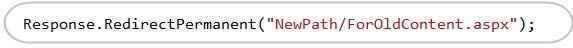 ASP.NET 4中的SEO改进