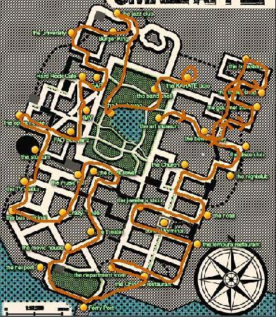 《疯狂出租车3》的crazy box任务攻略
