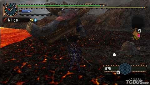 《怪物猎人2G》集会所G级任务之熔岩龙攻击分析