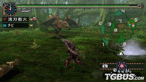 《怪物猎人2G》眠鸟讨伐 双剑篇