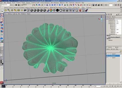 Maya动画教程:水墨动画《荷塘月色》制作流程