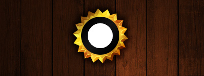 photoshop设计制作出金属质感密封徽章