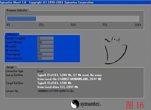 用一键U盘装系统工具不进PE恢复系统的方法
