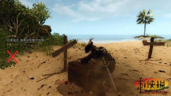 崛起2黑暗水域金银岛任务图片介绍