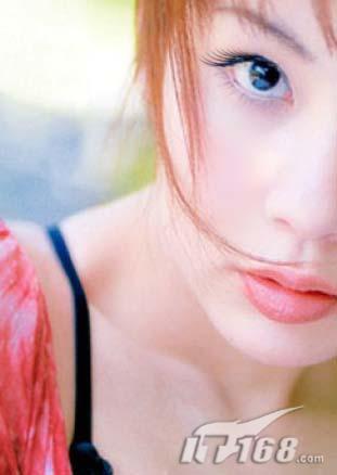 ps美容-画出纤长睫毛