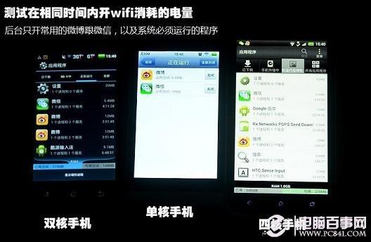 开启手机wifi功能的耗电情况测试
