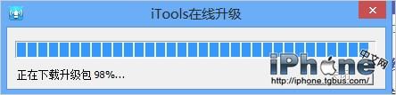 使用iTools快速升级App应用