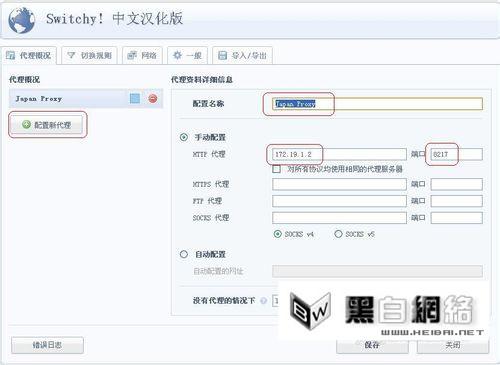 Chrome浏览器Proxy Switchy安装教程