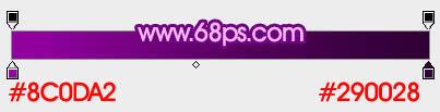 ps文字特效-打造紫色3D字体
