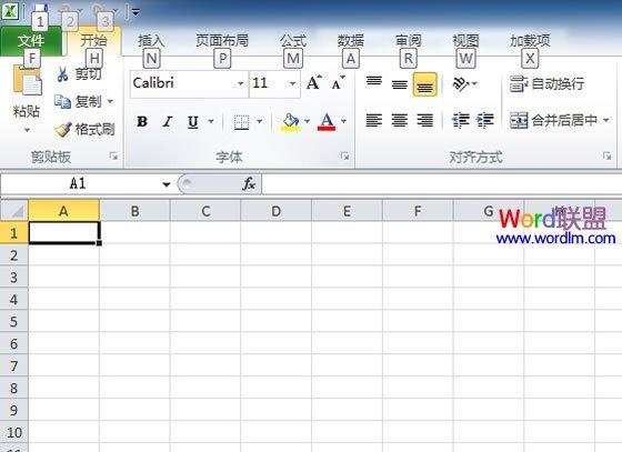 在Excel2010中不能输入斜杠怎么办?