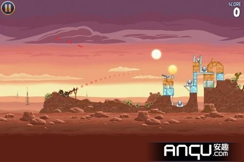 《愤怒的小鸟:星球大战》6-10关三星攻略
