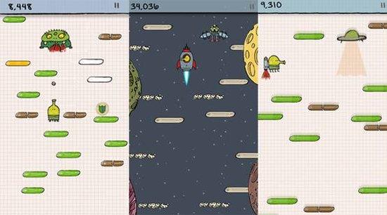 《涂鸦跳跃》游戏攻略:操作、道具、情境介绍