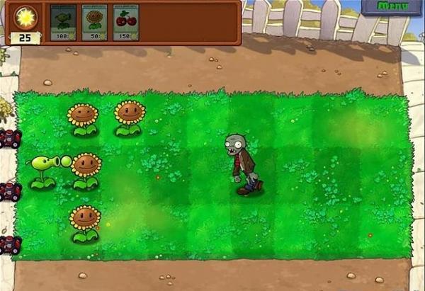 《植物大战僵尸》第一关游戏攻略