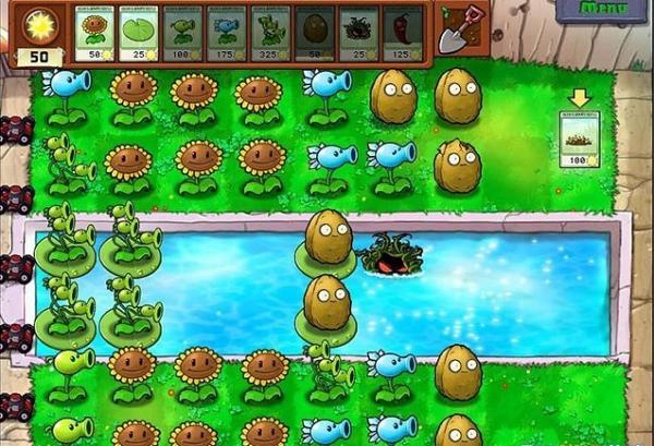 《植物大战僵尸》第三关游戏攻略