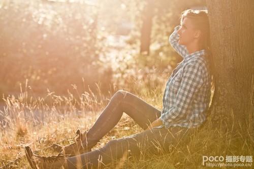 与落日合作,教你拍摄夕阳人像