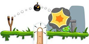 《愤怒的小鸟》黑色的炸弹鸟作用介绍