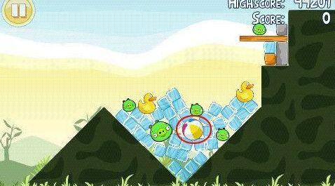 《愤怒的小鸟》第5颗金蛋获取方法