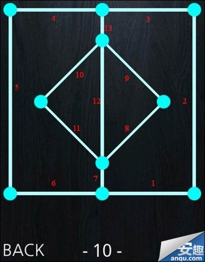 《一笔画》1-10关完整通过攻略