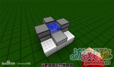 《我的世界》简易3X3大小TNT发射炮怎样制作?