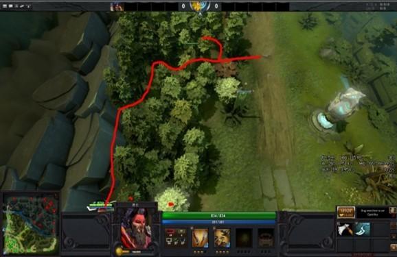 教你如何在DOTA2树林中进行反杀