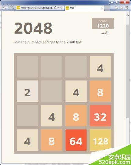 2048游戏怎么赢 2048游戏胜利攻略