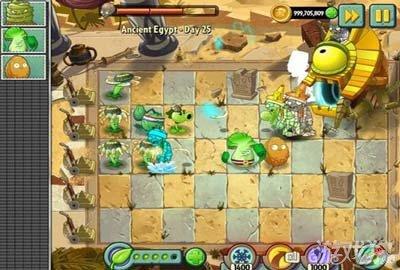 《植物大战僵尸2》神秘埃及僵尸王攻略