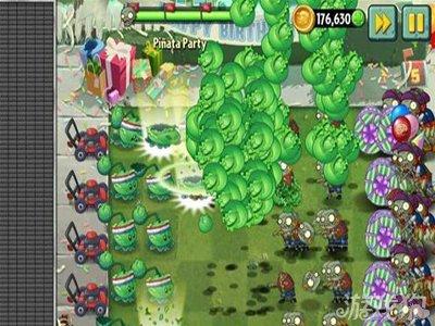《植物大战僵尸2》生日派对攻略图文详解 终极派对