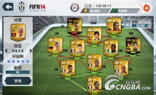 《FIFA14》阵容选择和球队不失球心得