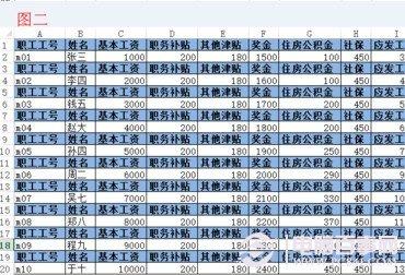 Excel批量插入表头教程