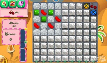 《糖果粉碎传奇Candy Crush Saga》111,112,113,114关过关攻略