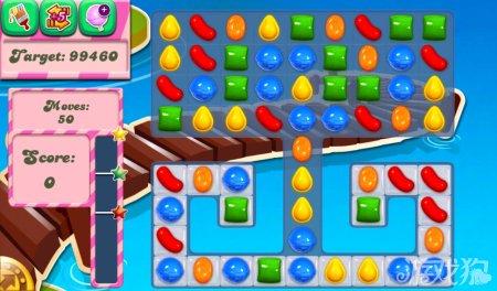 《糖果粉碎传奇Candy Crush Saga》133,134,135关过关攻略