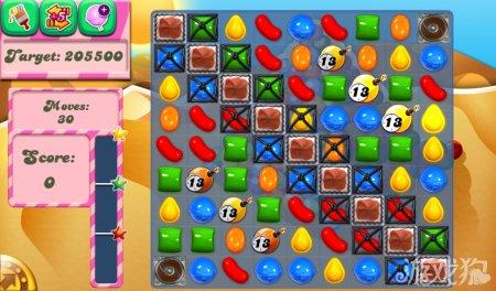 《糖果粉碎传奇Candy Crush Saga》166,167,168关过关攻略