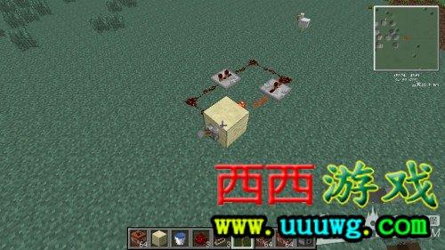 《我的世界》连发TNT大炮另类制作方法 挖矿神器