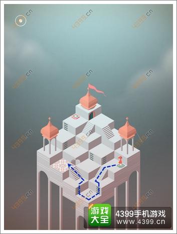 《纪念碑谷》RED第四关:层层叠叠攻略