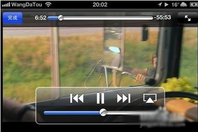 iPhone怎么导入电影视频?