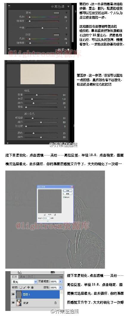 PS胶片质感修图调色方法