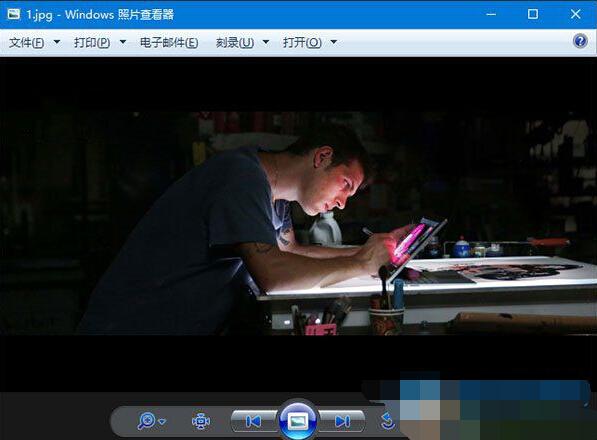Win10系统照片查看器背景颜色如何修改