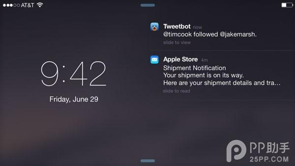 iOS9让你不错过重要通知