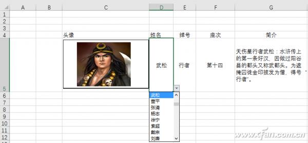 Excel图标信息联动怎么制作