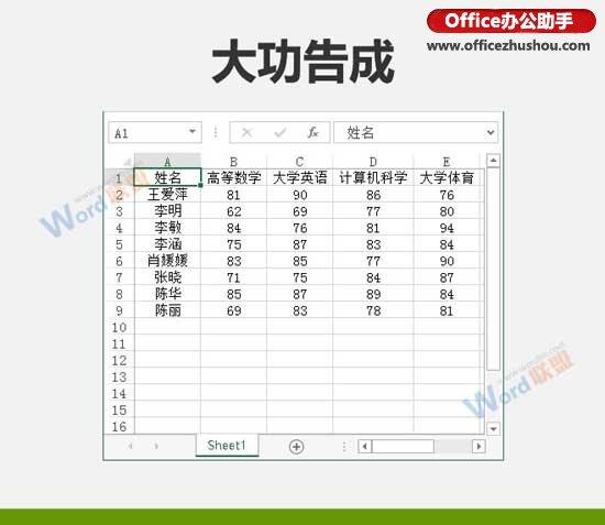按笔划排序Excel数据的方法