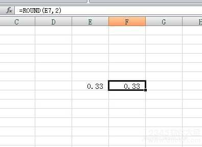 excel怎么只显示小数点后两位?excel如何保留特定数位的数字?