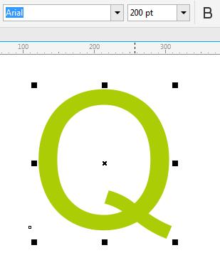 一起学一学吧!CDR如何将文字转换为曲线并编辑